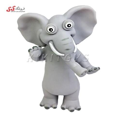 اسباب بازی حیوانات فیگور گوشتی فیل فانتزی