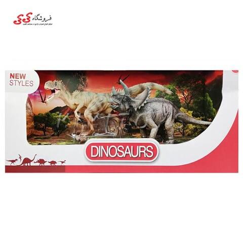 فیگور حیوانات دایناسور تیرکس دو عددی