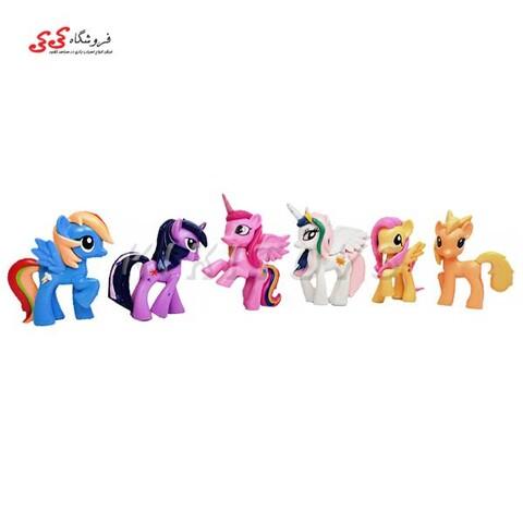 فیگور اسب های پونی  ست 6 عددی PONY