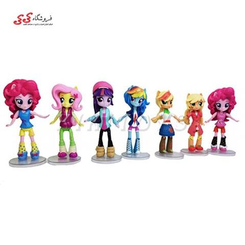 فیگور پونی انسانی Fashion set My Little pony Girls