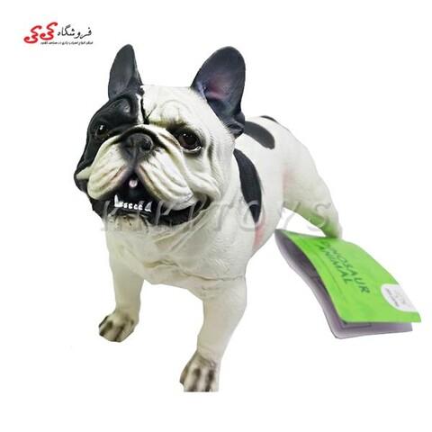فیگور حیوانات سگ بولداگ فرانسوی نرم French Bulldog