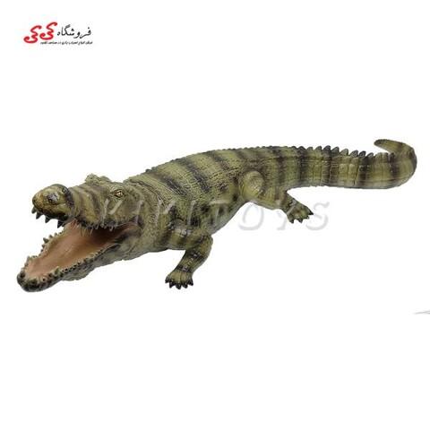 فیگور حیوانات تمساح گوشتی