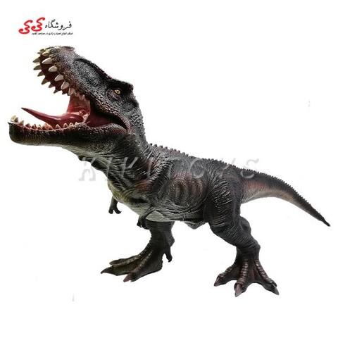 اسباب بازی ماکت گوشتی دایناسور تیرکس Tyrannosaurus