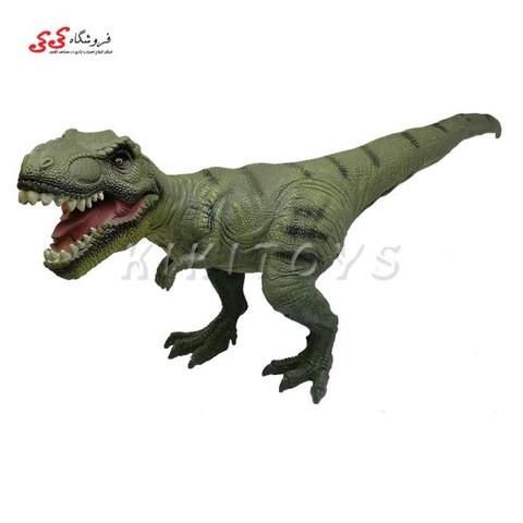 اسباب بازی فیگور دایناسور تیرکس مدل خشک و سبک Tyrannosaurus