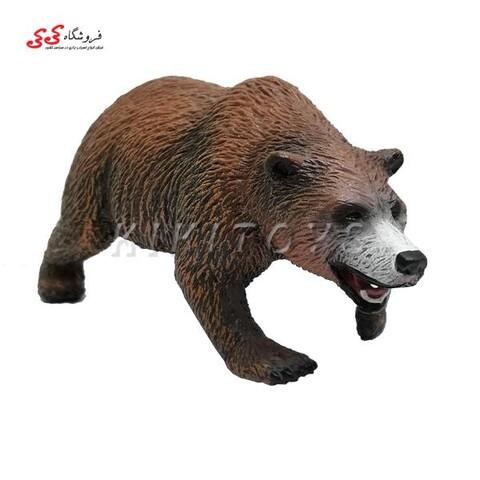 فیگور حیوانات خرس قهوه ای خوابیده Brown Bear