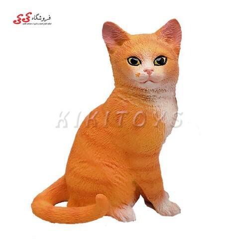 فیگور حیوانات گربه نشسته fiquer of cat