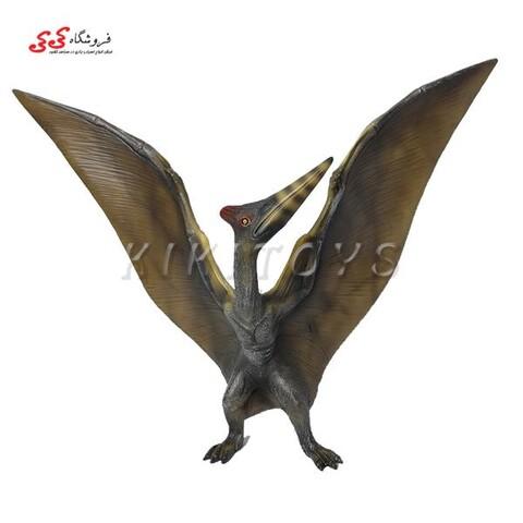 اسباب بازی فیگور حیوانات دایناسور پرنده ترانادان مدل پترادون  PTERANODON
