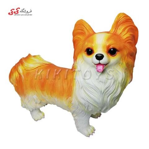 ماکت سگ اورجینال پاپیلون Papillon dog 14016