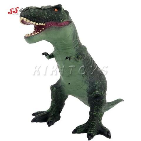 اسباب بازی دایناسور بادی مدل تیرکس بزرگ سبز  DINOSAUR ANIMAL