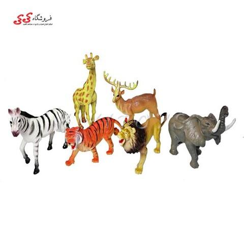 اسباب بازی فیگور حیوانات جنگل World Animals