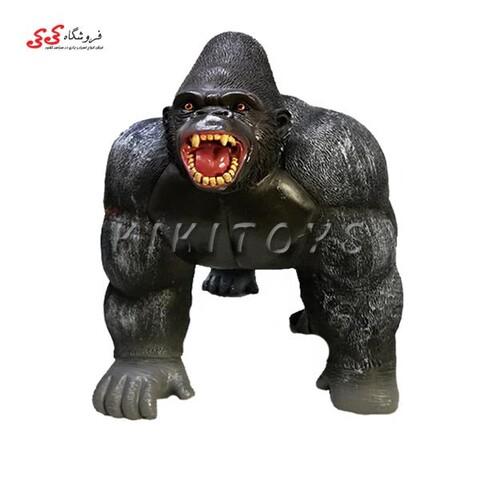 فیگور حیوانات گوریل زخمی بزرگ اسباب بازی Gorilla figure