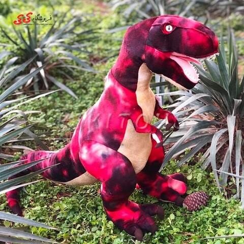 دایناسور تیرکس پولیشی اورجینال اسباب بازی قرمز