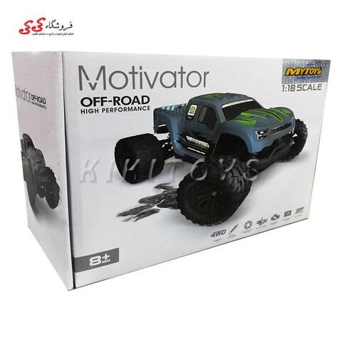 ماشین کنترلی سرعتی آفرودی 38 کیلومتر اسباب بازی MOTIVATOR OFF ROAD