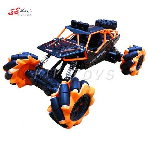 اسباب بازی ماشین کنترلی آفرودی چرخ کپسولی SPEED PIONER CAR