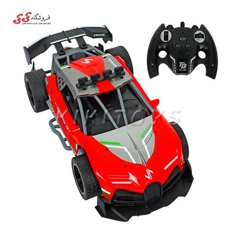 ماشین کنترلی  دودزا کنترلی اسباب بازی SPRAY RUNNER CAR