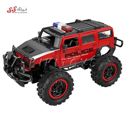 اسباب بازی ماشین کنترلی آفرودی هامر پلیس POLICE CAR
