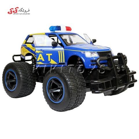 اسباب بازی ماشین کنترلی آفرودی جیپ پلیس POLICE CAR
