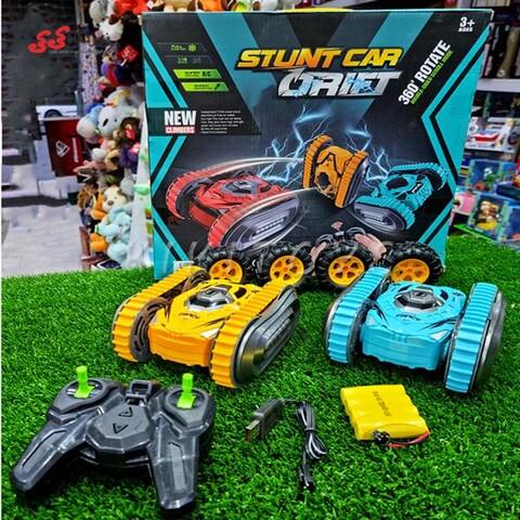 ماشین کنترلی چرخ زنجیری اسباب بازی- STUNT CAR DRIFT