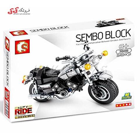لگو ماکت موتور یاماها برند اس وای SEMBO BLOCK 701110