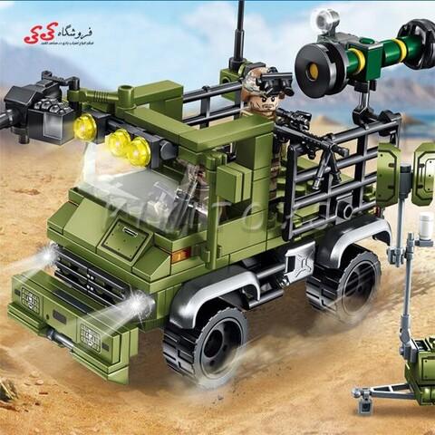 لگو ماشین موشک انداز جنگی سمبو بلاک SEMBO BLOCK 105476