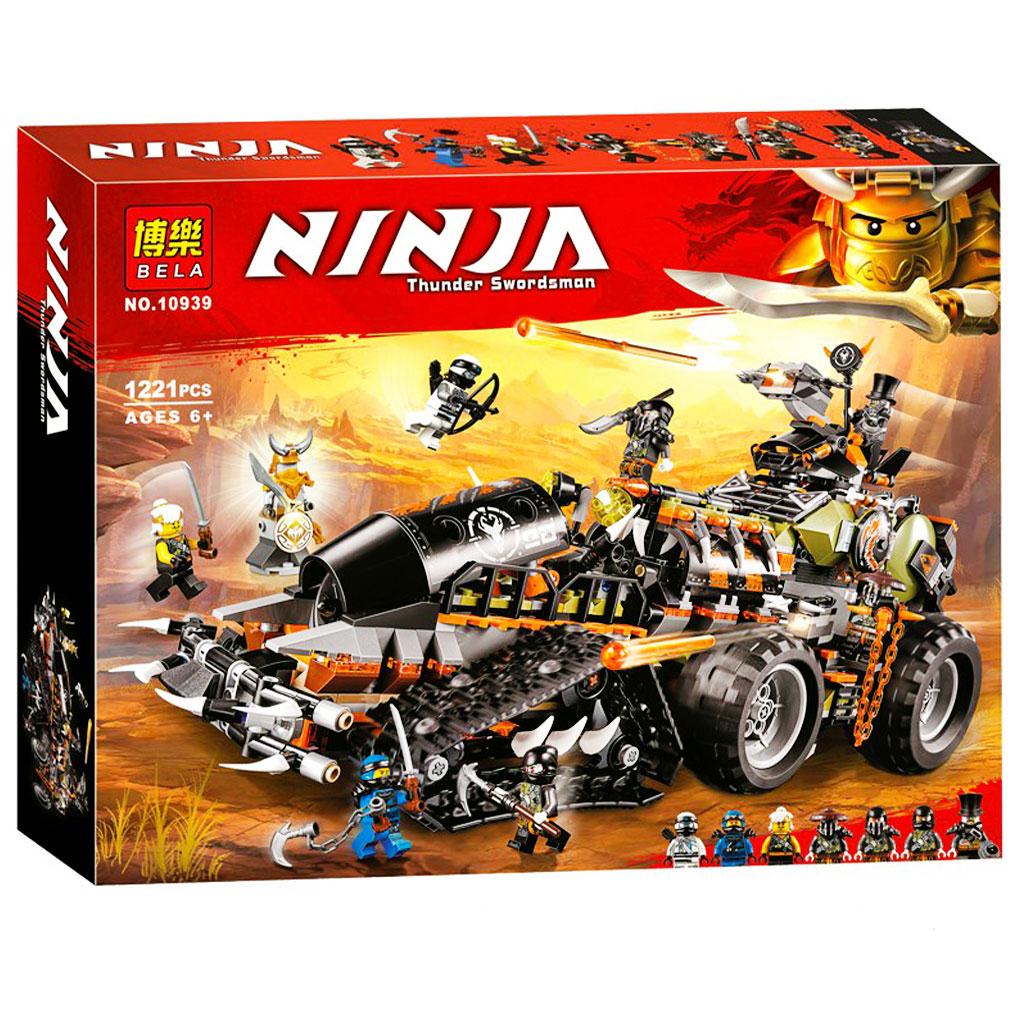 لگو ماشین | جنگی نینجاگو | مدل لاری LARI 10939