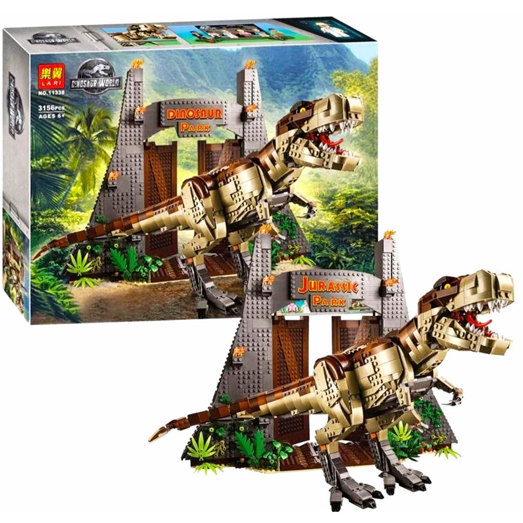 لگو دایناسور تیرکس پارک ژوراسیک برند لاری LARI 11338