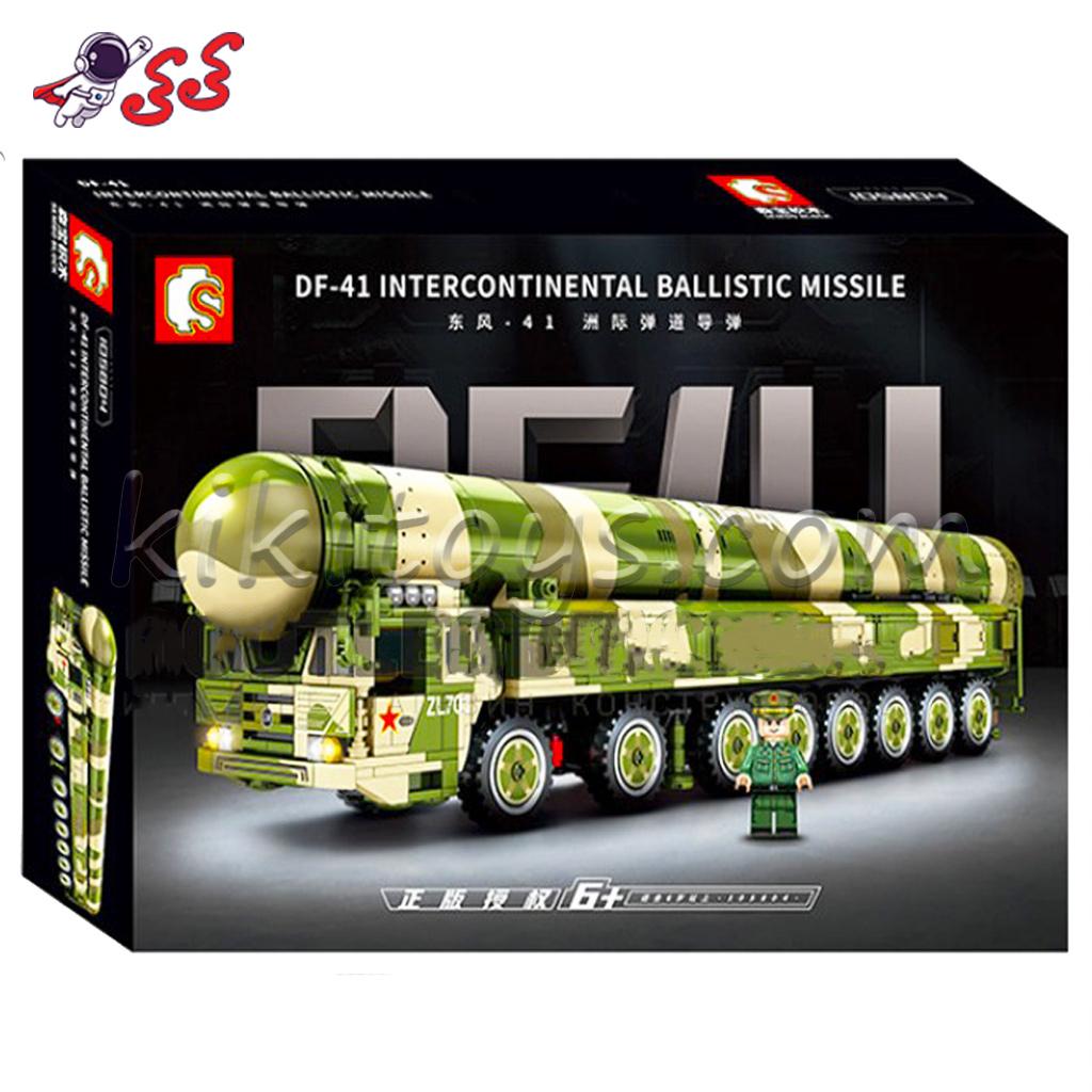ساختنی لگو موشک انداز DF41 سمبو بلاک SEMBO BLOCK 105804