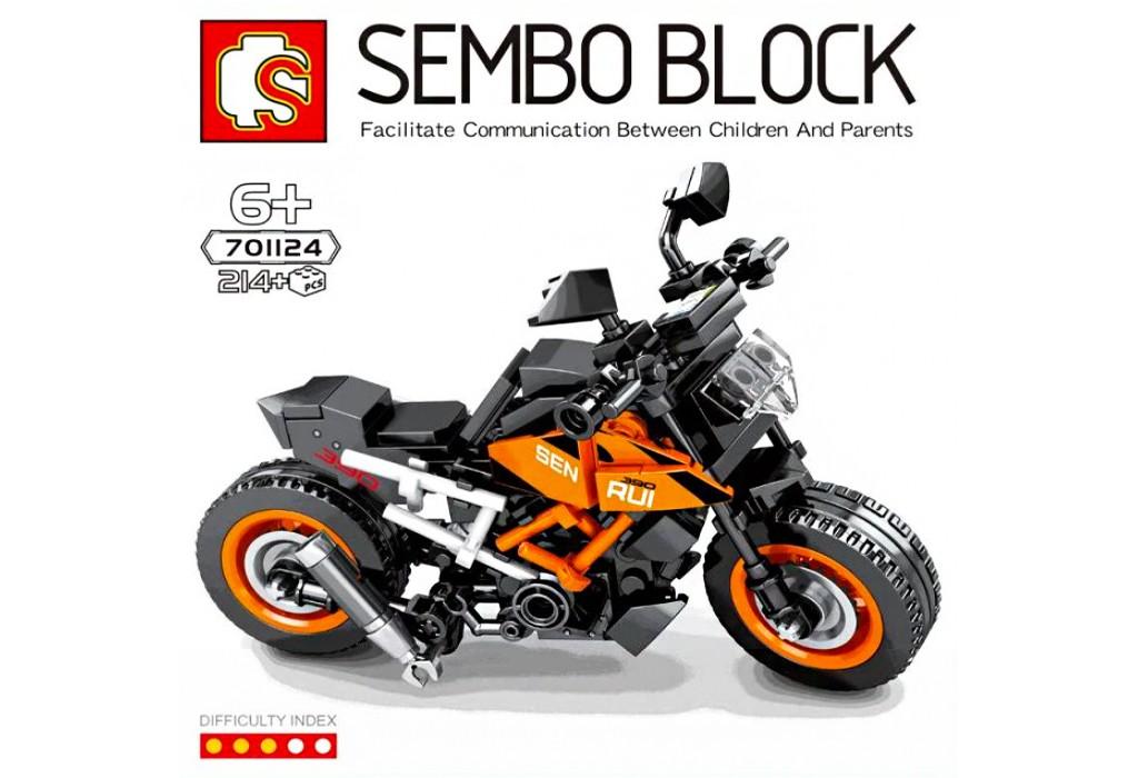 لگو ماکت موتور کی تی ام KTM برند اس وای SEMBO BLOCK 701124