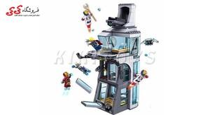 لگو  برج اونجرز با تونی استارک  دکول -7114 decool