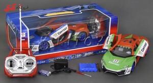 سرگرمی اسباب بازی ماشین کنترلی مسابقه ای طرح لامبورگینی