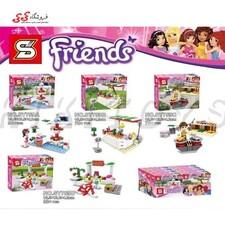 لگو فروشگاه فرندز اس وای  SY759C
