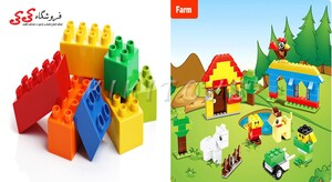 خانه سازی اسباب بازی کودک