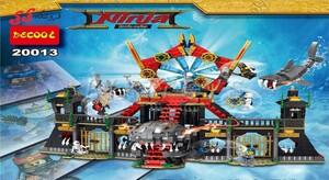 لگو قلعه بزرگ نینجا گو مووی دکول 20013  Ninja movie-