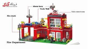 لگو ایستگاه آتشنشانی  انلایتن 910-ENLGHTEN