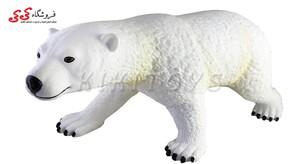 خرید اینترنتی خرس قطبی بزرگ اسباب بازی polar bear  figure