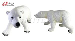 اسباب بازی خرس قطبی بزرگ گوشتی