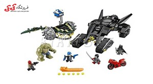 لگوماشین بتمن و کلیرکراک لپین-LEPIN 07037 Super Heroes