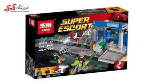 لگو اسپایدرمن بازگشت به خانه LEPIN SUPER ESCORT 07089