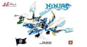 لگو نینجاگو جی با اژدها   SY 8102 NINJAGO
