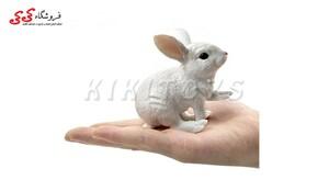 قیمت و خرید فیگور حیوانات خرگوش Simulation Rabbit White Animal figure