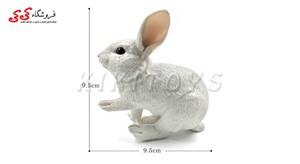 خرید اینترنتی فیگور حیوانات خرگوش Simulation Rabbit White Animal figure