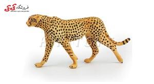 قیمت و خرید فیگور حیوانات یوزپلنگ Simulation Animal Model Leopard Cheetah Action Figures