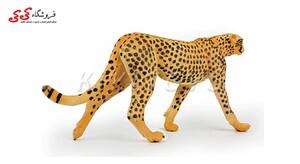 خرید اینترنتی فیگور حیوانات یوزپلنگ Simulation Animal Model Leopard Cheetah Action Figures