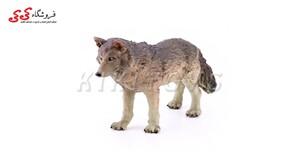 قیمت و خرید فیگور حیوانات گرگ سایز متوسط  wolf