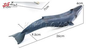 اسباب بازی ماکت حیوانات وال آبی fiqure of the whale