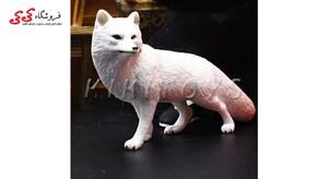 قیمت و خرید فیگور حیوانات روباه زمستانی fiqure of fox