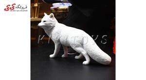 خرید اینترنتی فیگور حیوانات روباه زمستانی fiqure of fox