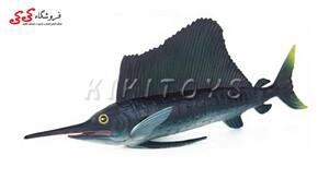 خرید اینترنتی فیگور حیوانات نیزه ماهی Sailboat Toy Model Animals