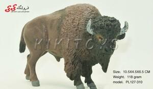 قیمت و خرید فیگور حیوانات بوفالو buffalo brown bull