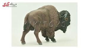 خرید اینترنتی فیگور حیوانات بوفالو buffalo brown bull